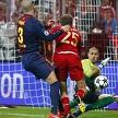 Прогноз на ответный матч 1/2 финала ЛЧ-2014/2015 «Бавария» - «Барселона»