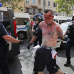 Испанские туристы в Кельне были избиты российскими болельщиками