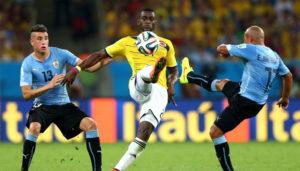 Прогноз и ставки на Колумбия – Уругвай: футбол, ЧМ-2018, 11 октября 2016
